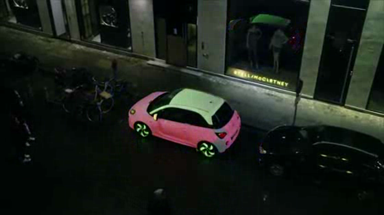 The Color Changing Car