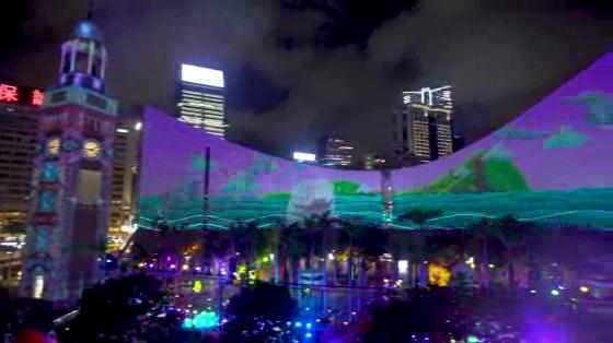 HKTB Pulse Light Show