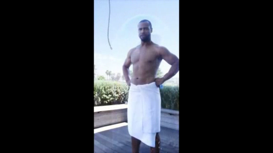 Old Spice ALS Ice Bucket Challenge
