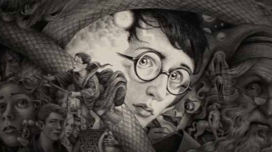 Harry Potter U.S. 20th Anniversary Covers by Brian Selznick