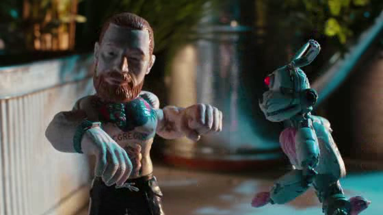 Conor McGregor fights off rogue toys in Reebok's new Zig